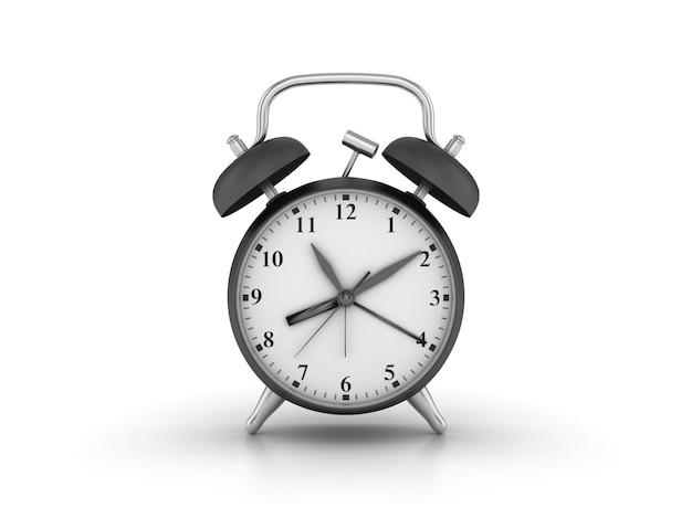 目覚まし時計の3 dレンダリング図