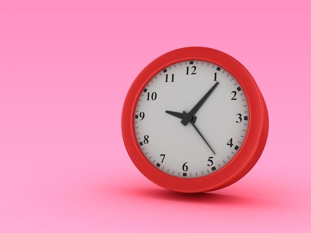 時計の3 dレンダリング図