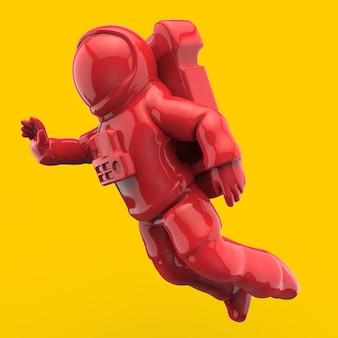 宇宙飛行士-3 dイラストレーション