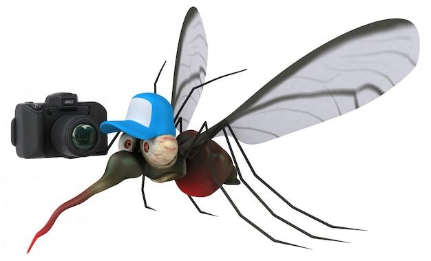 蚊-3 dイラストレーション