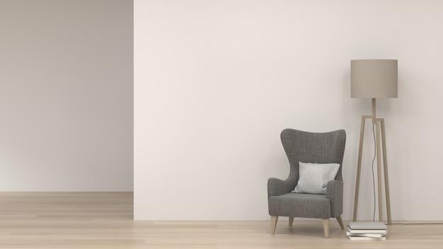 家とオフィスのオブジェクトの空白のシナリオの背景3 dレンダリング