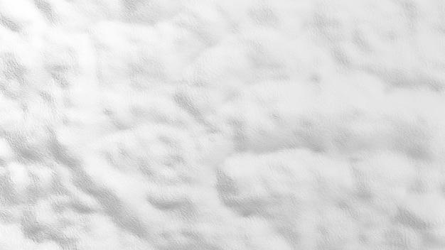 雪のテクスチャ背景の3 dレンダリング