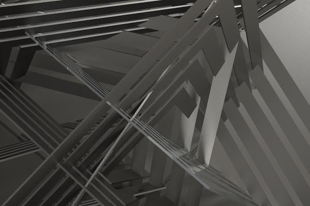 3 dレンダリングの抽象的な背景