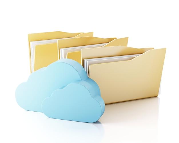 クラウド内の3 dファイルストレージ。