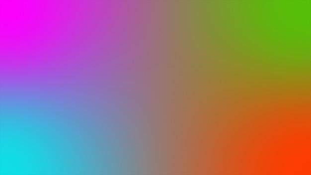 抽象的な背景ホログラフィックグラデーション未来的な3 dレンダリング