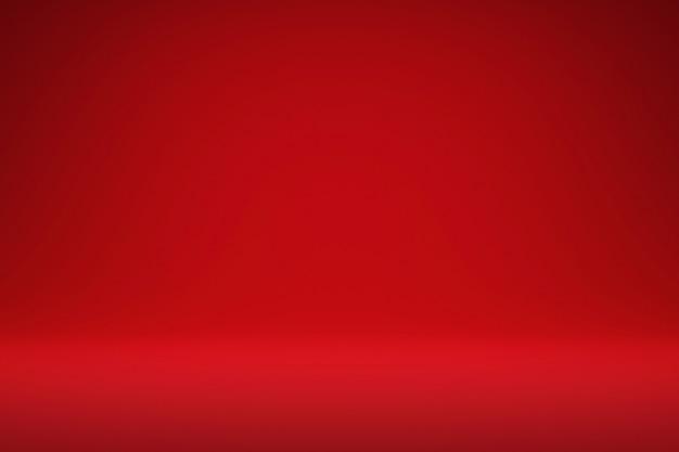 抽象的な赤とグラデーションの明るい背景リアルな3 dレンダリング。