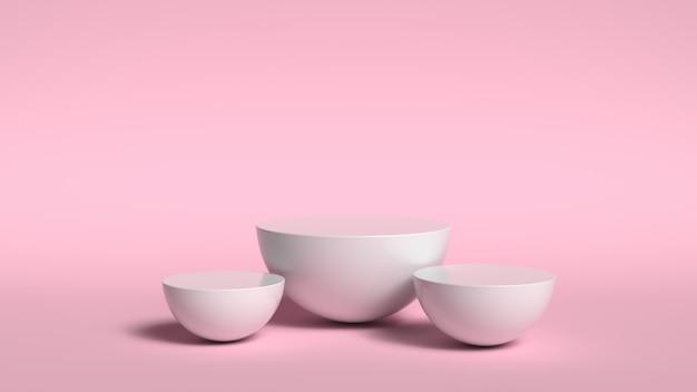 3 dの抽象的な背景のレンダリング