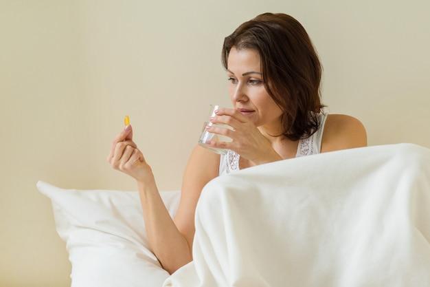 女性はオメガ3で薬を飲む