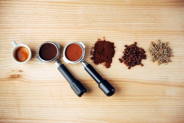 トップビューコーヒー3種類