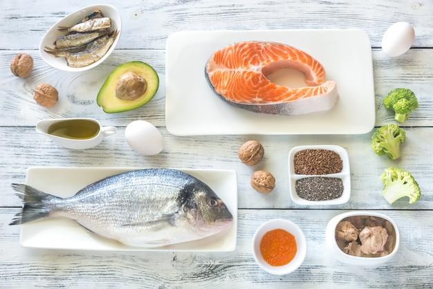 オメガ-3脂肪を含む食品