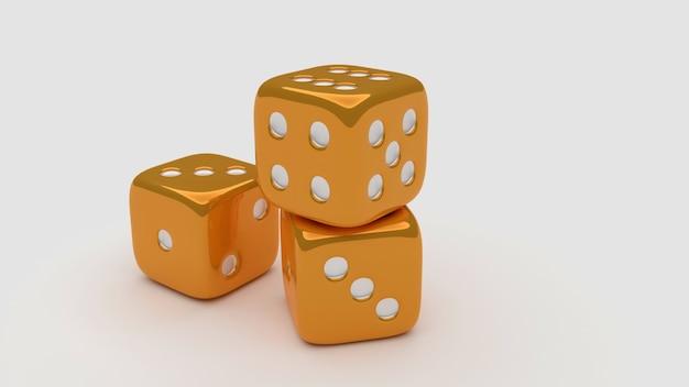 Золотая 3 кубика