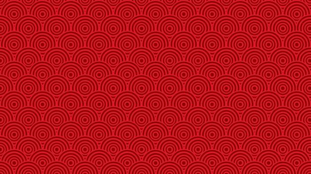 3d визуализация концепции. счастливый китайский - китай новый год 2020. фокус на золото и красный цвет.