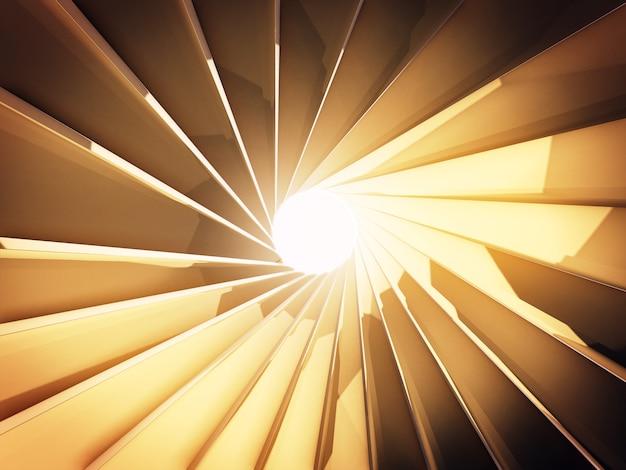 Абстрактная предпосылка перевода 3d поверхности золота, золотого затвора перевод 3d.