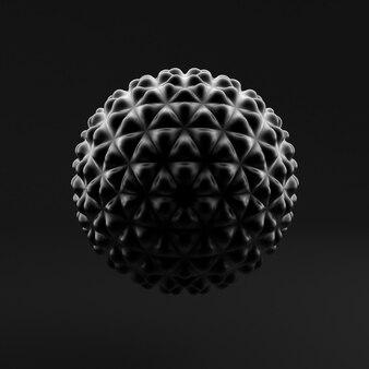 Абстрактный фон, сфера, форма. 3d иллюстрация, перевод 3d.