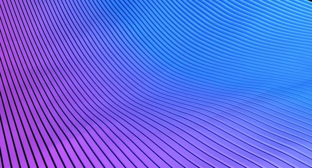 컷 라인 3d 추상적 인 배경입니다. 3d 렌더링 그림