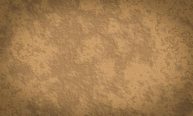 3d 추상 갈색 돌 벽 배경입니다. 바위 표면 질감입니다.