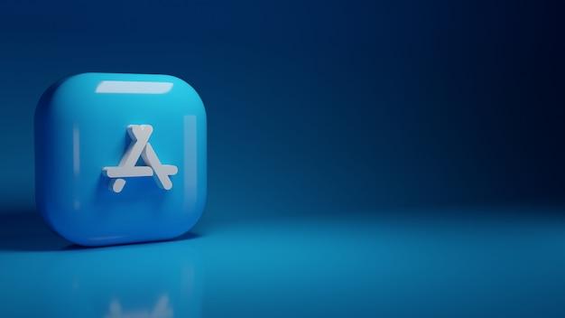 3d логотип приложения appstore