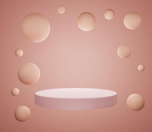 3d фон иллюстрация этап простой красочный пастель