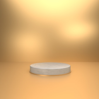 3d background for product showcase