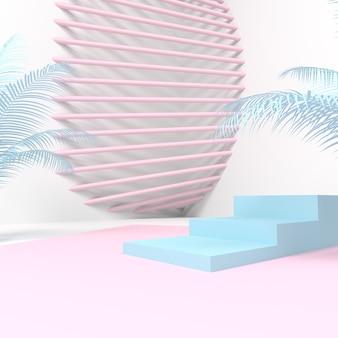 3d background product showcase