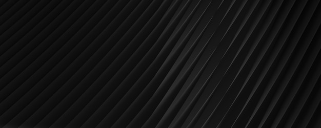 3d black abstract background image with diagonal stripes for text or website backgrounds