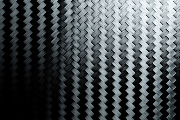 3d 블랙 카본 메쉬 그림입니다. 밝은 대비 색상 손으로 그린 장식 질감 배경.