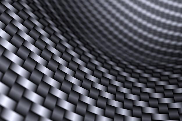 3d 블랙 카본 메쉬 그림입니다. 그런 지 질감입니다. 추상적인 기하학적 혼란 그런 지 패턴입니다. 밝은 대비 색상 손으로 그린 장식 질감 배경.