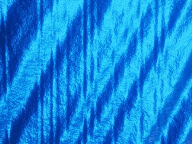 3d 블루 추상 파 배경