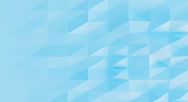 3d синий треугольник абстрактная фоновая текстура. 3d рендеринг.