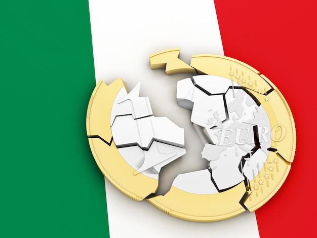 3d broken euro