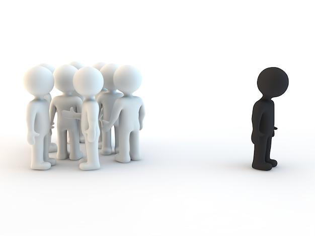 3d 캐릭터와 인종 차별