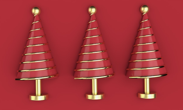 3d christmas postcard wallpaper .merry christmas concept . 3d illustration. 3d rendering
