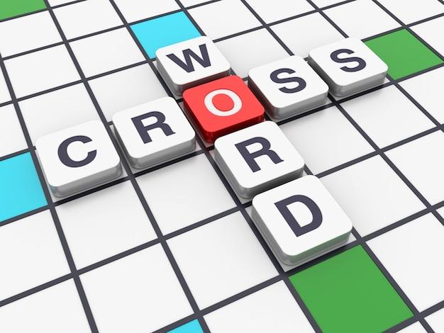 3dクロスワード