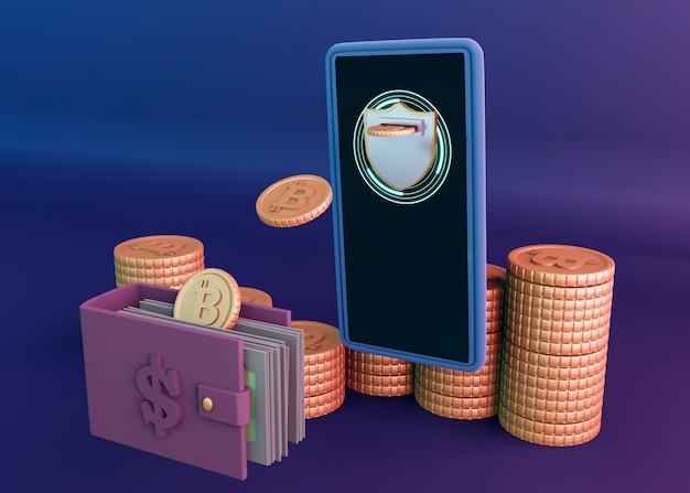3d визуализация криптовалюты