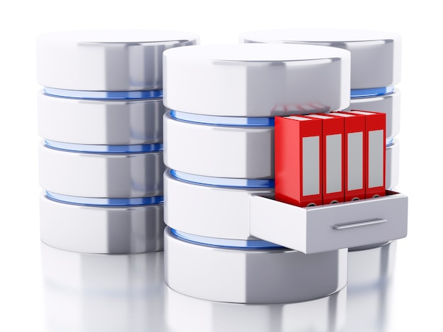 3d data storage with folders
