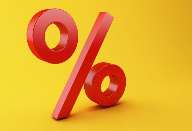 3d discount symbol