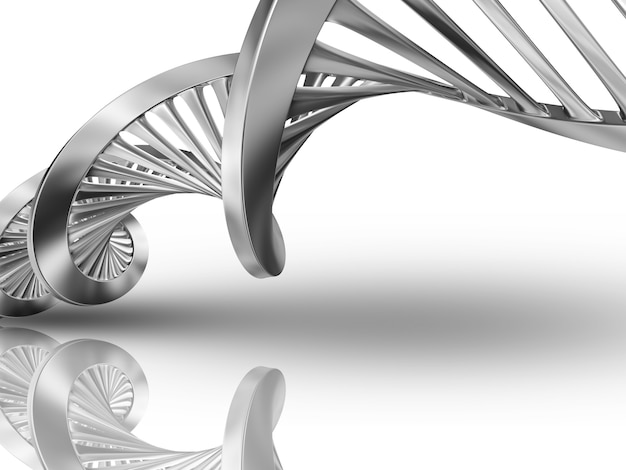 3d dna medical background