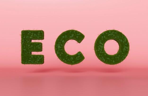 환경을위한 3d 에코 프로젝트