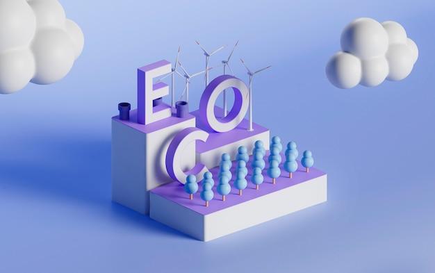 Progetto di ecologia 3d