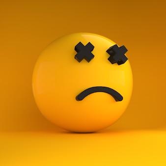 3d emoji in sad
