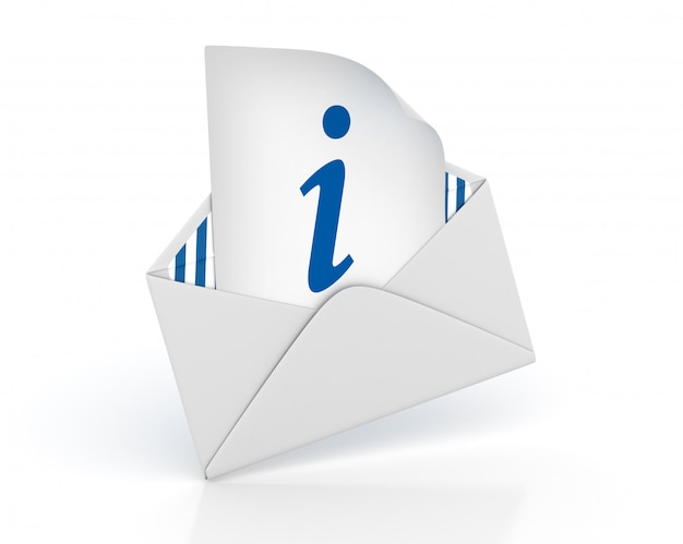 3d envelope with information symbol