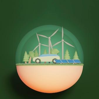 Сцена проекта 3d среды