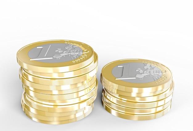3d euro coin