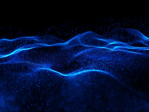 Трехмерные плавные кибер-частицы с малой глубиной резкости