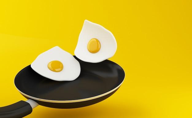3d卵付きフライパン