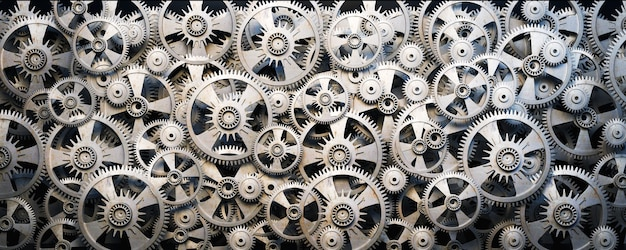 3d gears and cogwheels