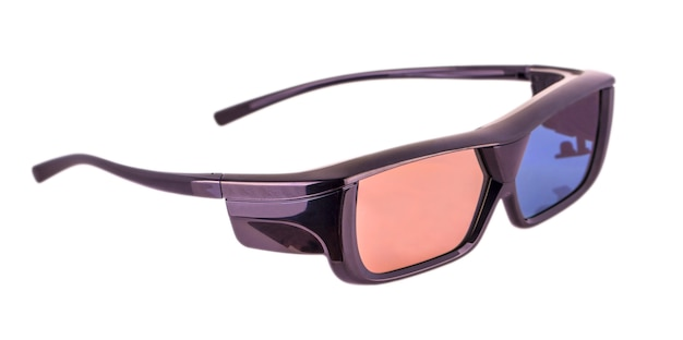 3d glasses isolated
