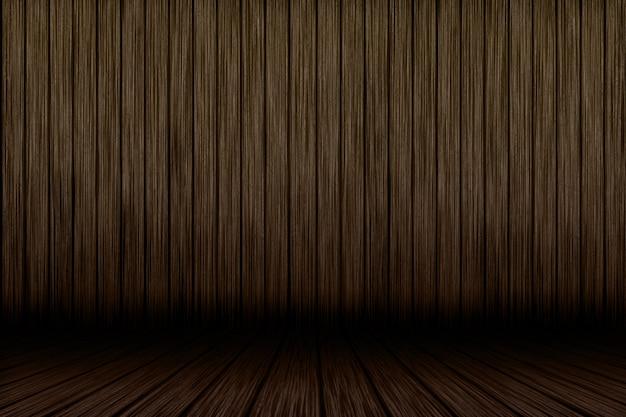 3d grunge wood interior