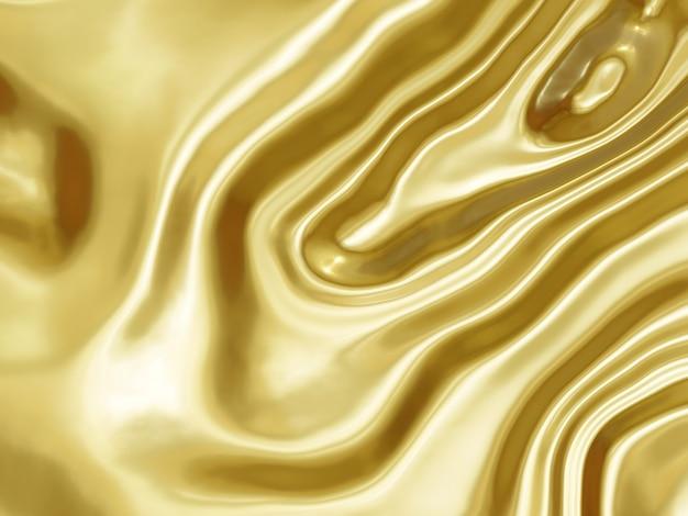 3d иллюстрации абстрактный золотой фон