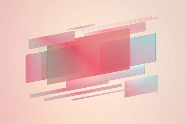 3d illustration. abstract pastel color  background blank space for text logo